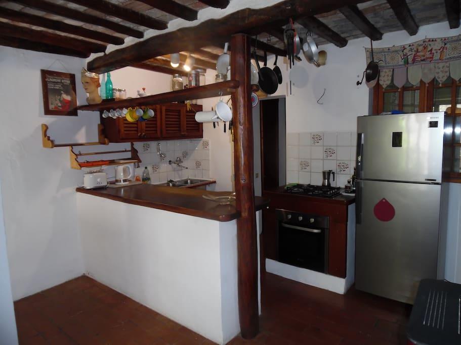 Cucina al primo piano