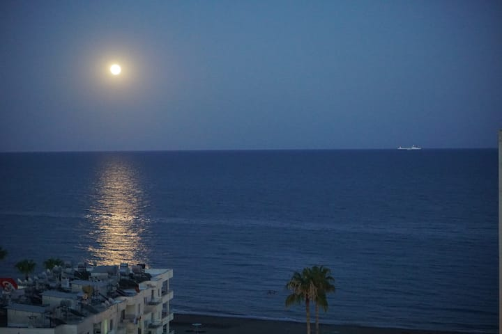 Your home in Mersin. View and comfort by the sea!