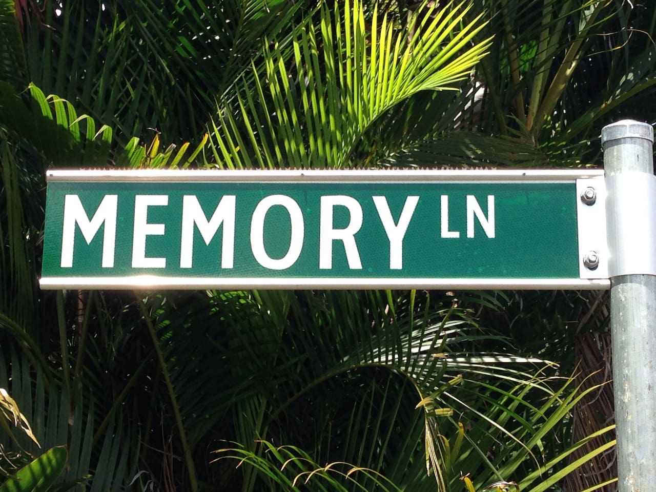 Look for the sign on the driveway and proceed to the highset Queenslander along Memory Lane.