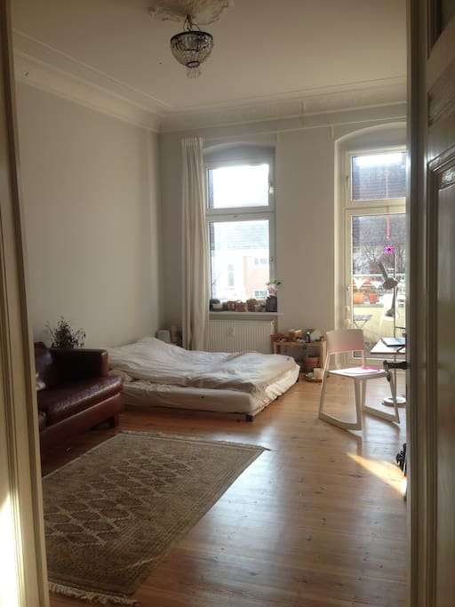 This is the room with a bed for 2 persons - Morningsun!