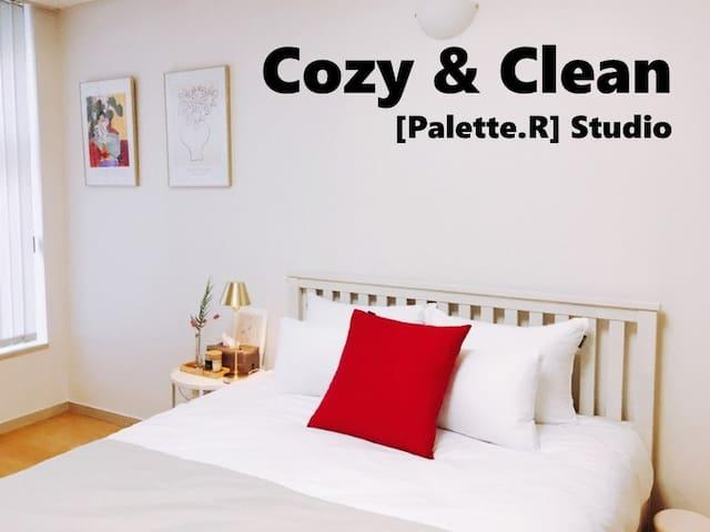 [Palette. R] Cozy&Clean Stuido / 광화문(경복궁) #Seoul