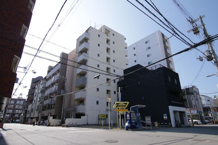 Namba Dikoku-cho Hostel/Cozy Room/near Sta 2min