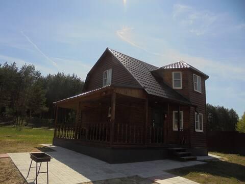 Дом с прекрасным видом на Оке в Велегоже