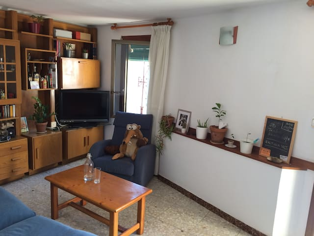Casa tranquila en Barcelona