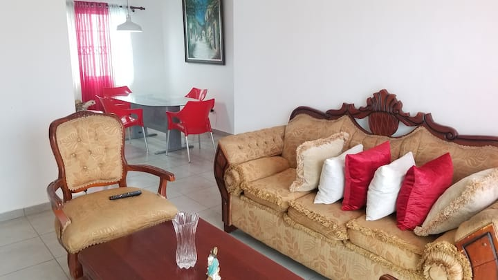Spacious apartament with two bedroom, wifi and tv