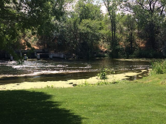 Shared common grounds and Billingsley creek