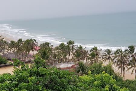Beach House in paradise of Kite Surf - Lagoinha.