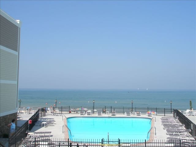 Lake Michigan 1 BR Beachfront Condo - South Haven - Condomínio