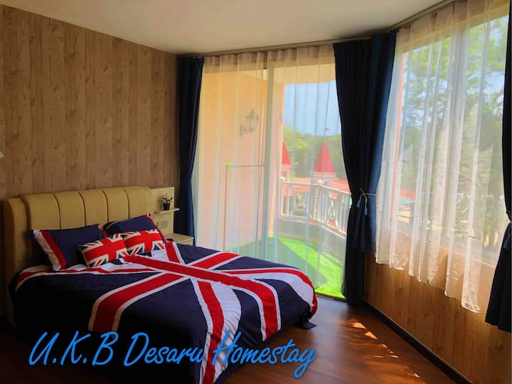 U.K.B Desaru Homestay (Super Host) near Water Park