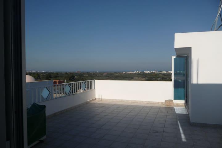 Studio vue mer - 3 terrasses - Hammam Al Agzaz - Daire