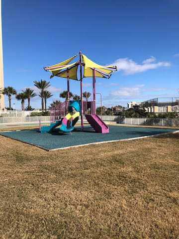 On site playground