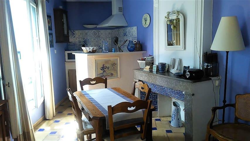 Appartement provençal au coeur de la ville d'Uzès.