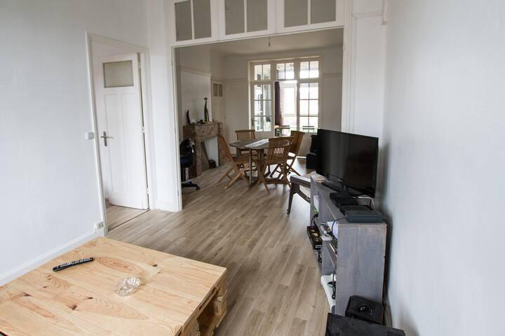 appart 70m² calme, lumineux, proximité Vieux Lille - Lambersart - Lägenhet