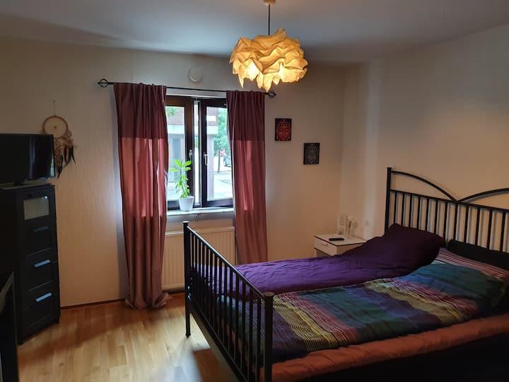 1 room in Malmö city.  20 min to copenhagen.