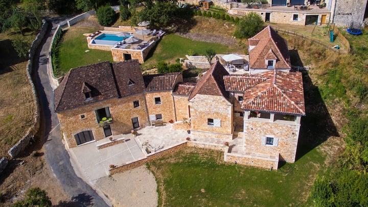 Demeure de charme en Dordogne de 4 à 12 pers