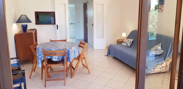 Corse Ile Rousse Studio 38m² à 5 min de la plage