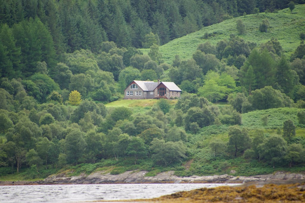 Tigh na ba, looking south from the loch