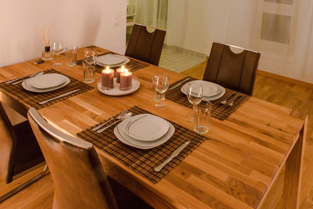 Candle light dinner at home?