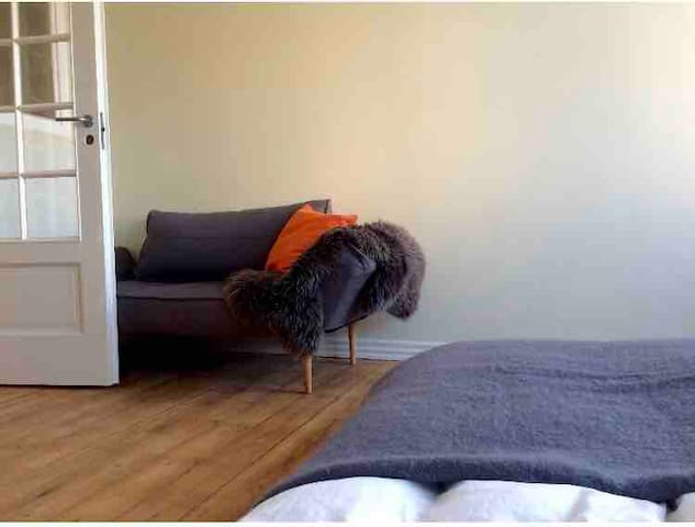 Spacious room, city centre - female tendents only
