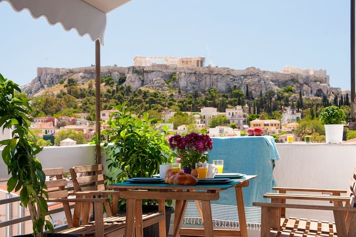AMAZING PENTHOUSE -ACROPOLIS VIEW PRIVATE TERRACE