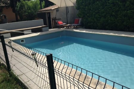 Belle villa avec piscine proche Avignon, Cavaillon - Verquiéres