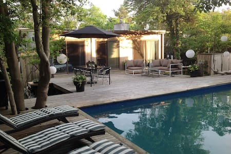 Stylish Private Mid Century Modern 3 bedroom house - Pines Fire Island - Talo