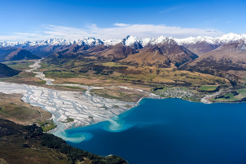 Glenorchy township and surrounds.