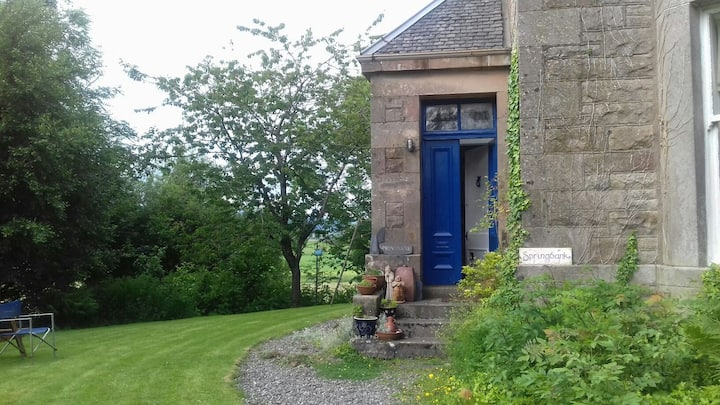 Springbank... An arty house with a welcoming charm