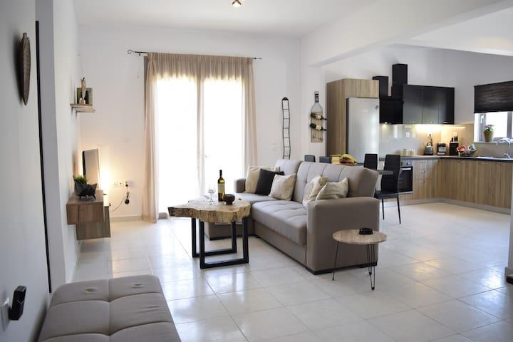Seariver- 2 bdr apartment on the beach, sleeps 6