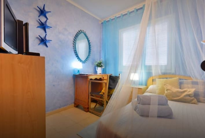 THE BLUE BEDROOM  In the Center of Ibiza Town