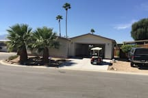 Garage and Golf Cart(Included)