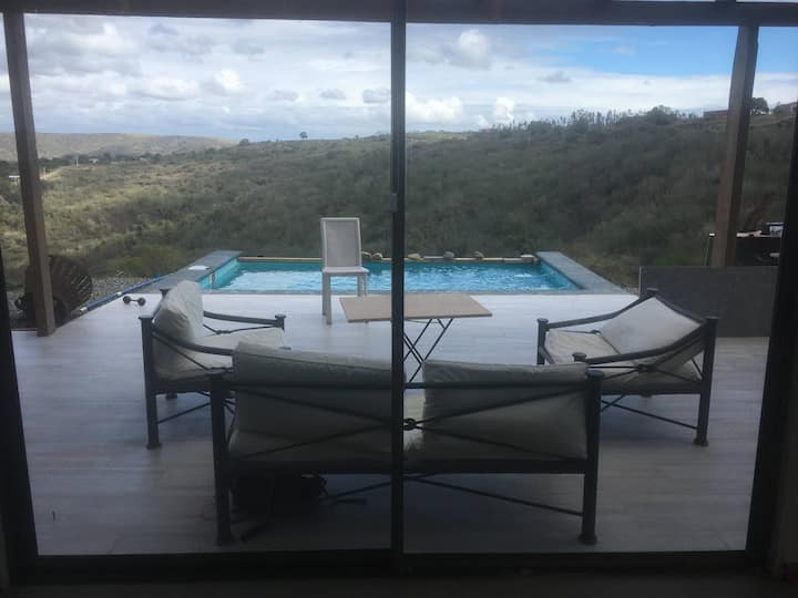 Casa campo en Yali con quincho y piscina para 8