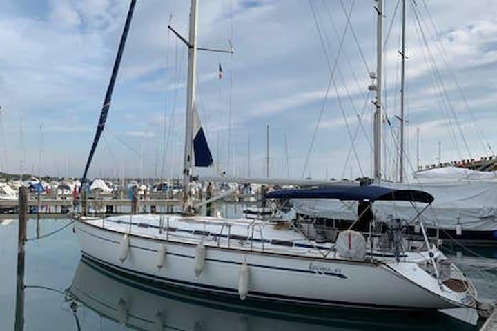 Suite a bordo di uno yacht a Venezia