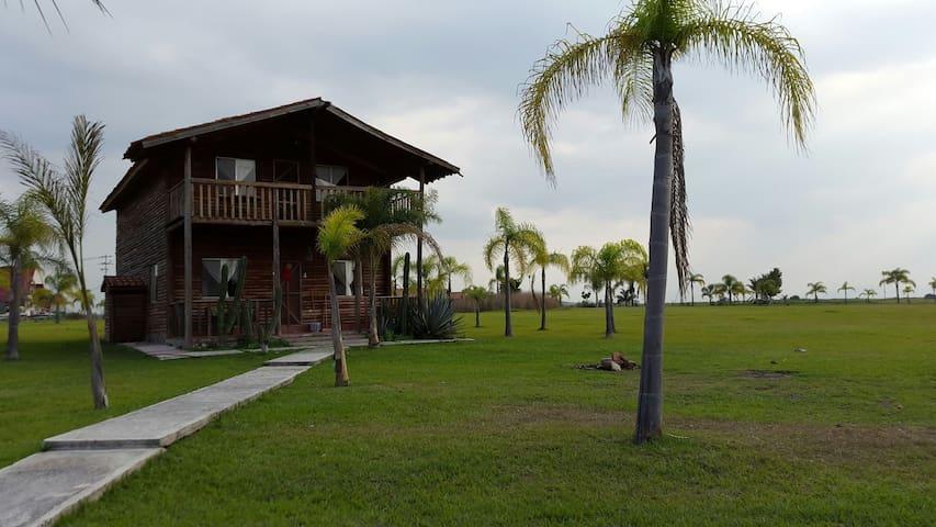 Cabaña en renta Presa La Vega, Teuchitlan - presa la vega - Haus