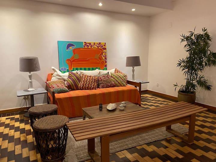 Apartamento de charme na Praia do Flamengo