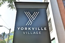 Surrounding Area - just down the street from Yorkville Village!