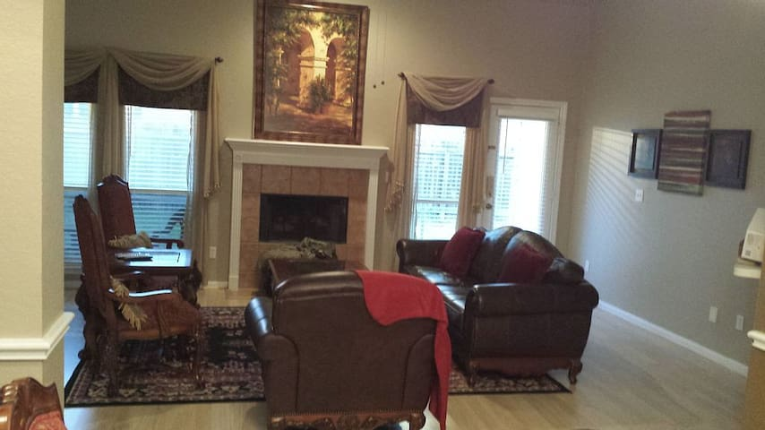 Living Room (television on wall to the left)
