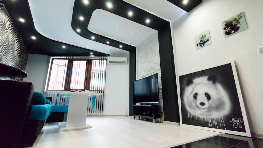 The Panda Apartment,luxury 10mins from the centre