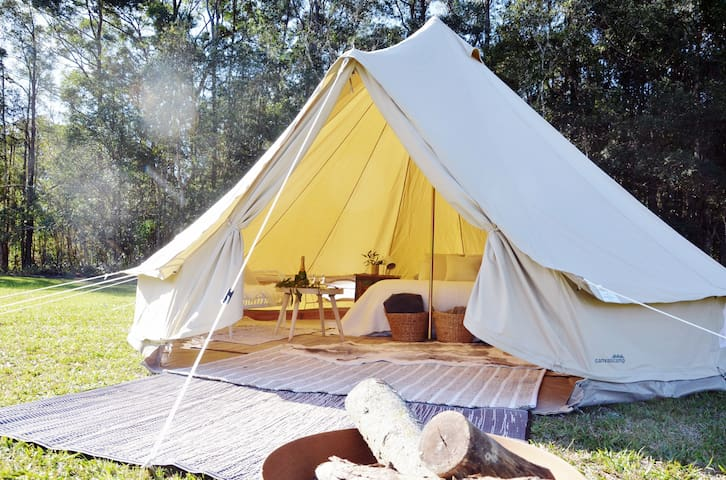 Wandering Abodes Glamping- NOW CAMP SITE INCLUSIVE - Caloundra