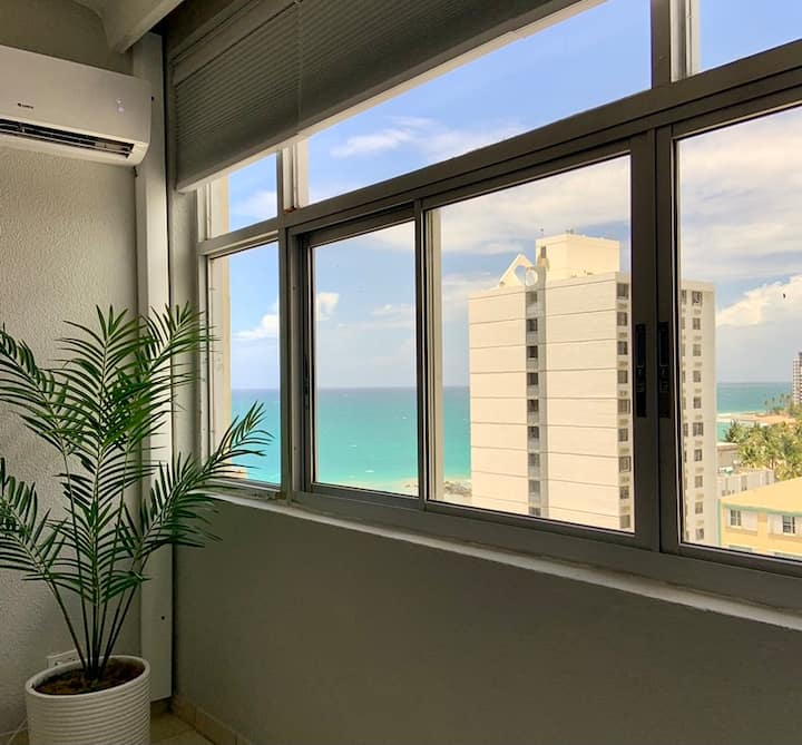 1 BR Ocean view Penthouse in Condado on Ashford