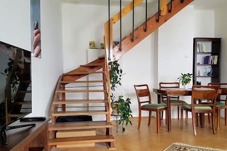 Olomouc city center duplex apartment