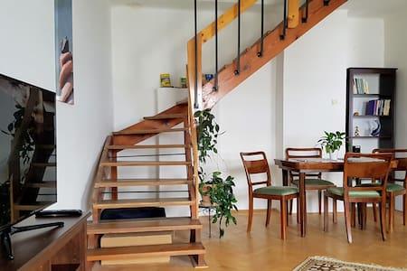 Mezonetový byt na náměstí v centru Olomouce