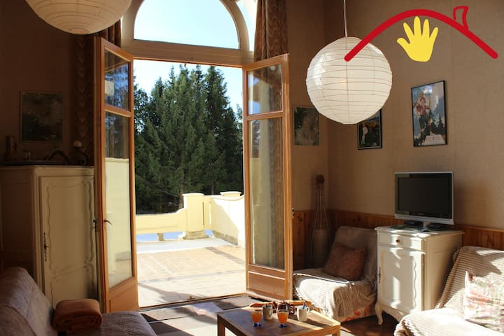 Triplex, WIFI, terrasse, Grand Hôtel, SKI VIP