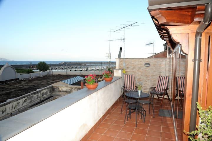 Casa con Vista Mare e Taormina