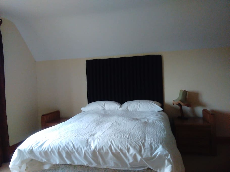 Double bedroom with on suite