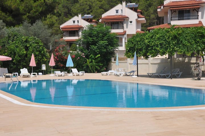 1 bed studio appartment with pool, Hisaronu