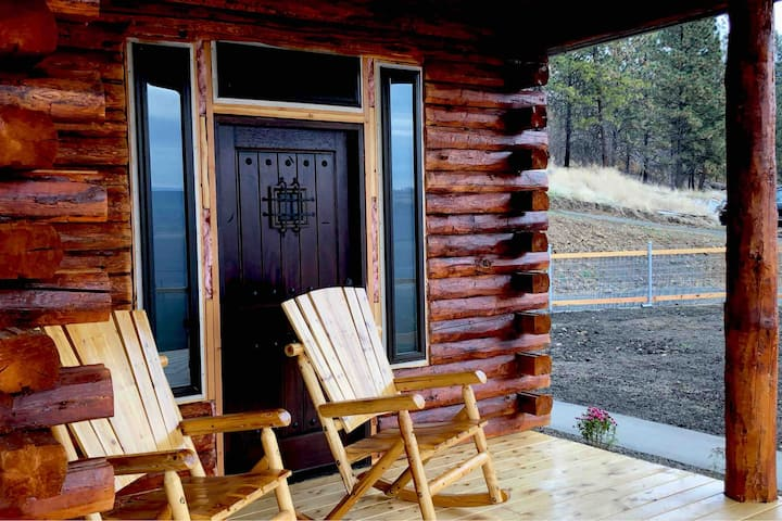Lookout Cabin above the Clearwater River