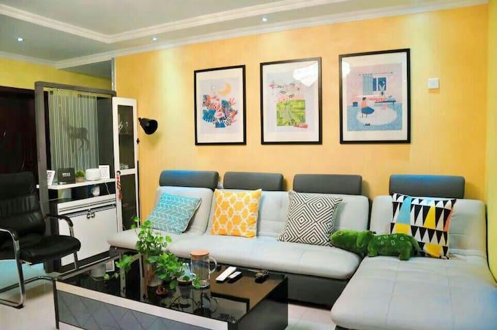 西索的家,台式电脑独立阳台。