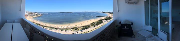 Lugar de ensueño.La mejor vista de Punta  !
