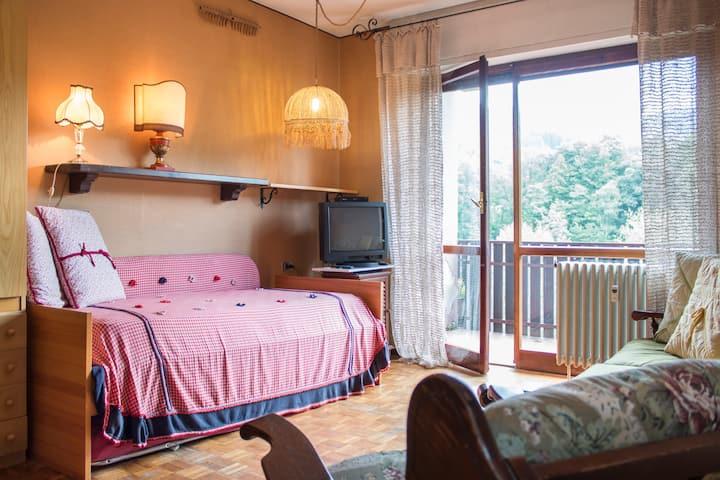 Appartamento nel verde con terrazzo panoramico!